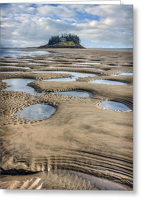 Greeting Card featuring the photograph Magical Maine by Tammy Wetzel