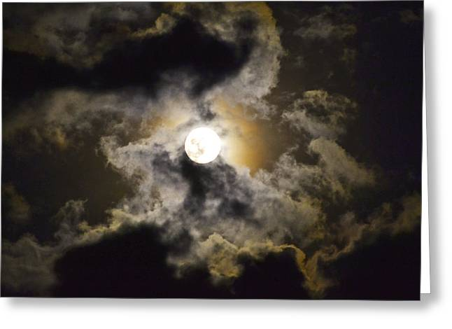 Magical Moon Greeting Card