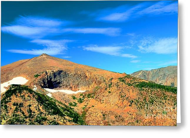 Magical Mountain Greeting Card by Kathleen Struckle