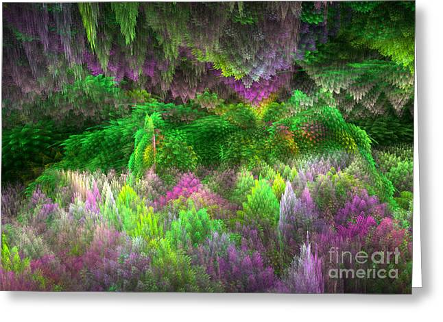 Magical Mystery Woods Greeting Card by Svetlana Nikolova