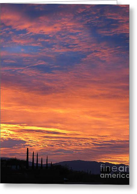 Magical Sunrise Greeting Card