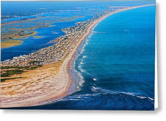 Magical Topsail Island Greeting Card