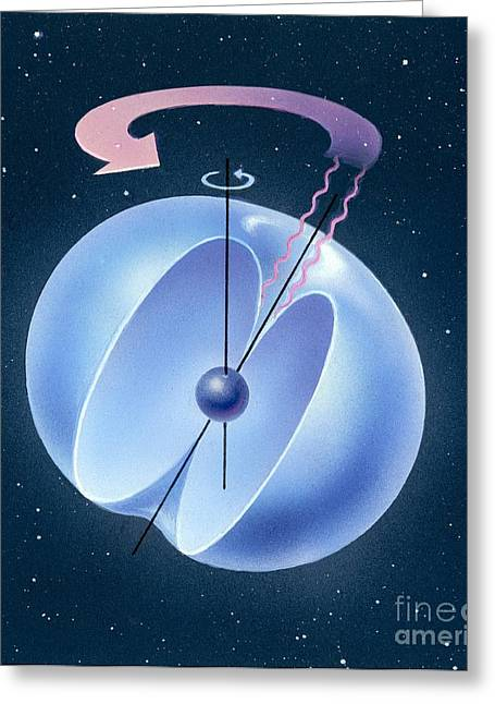 Magnetosphere, Artwork Greeting Card
