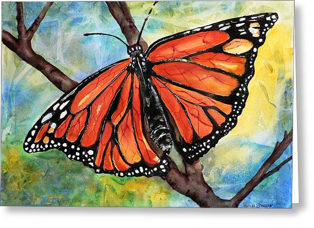 Magnificant Monarch Greeting Card