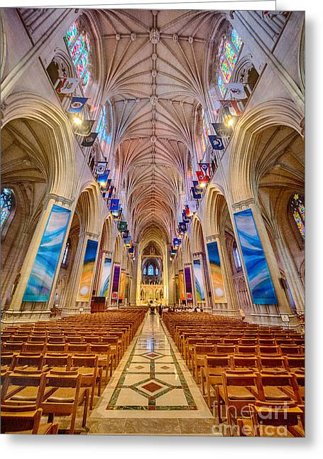 Magnificent Cathedral II Greeting Card