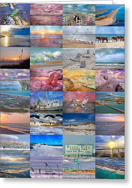 Magnificent Coastal North Carolina Greeting Card by Betsy Knapp