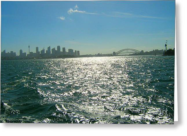 Greeting Card featuring the photograph Magnificent Sydney Harbour by Leanne Seymour