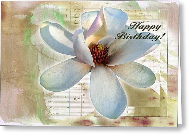 Magnolia 4 Greeting Card
