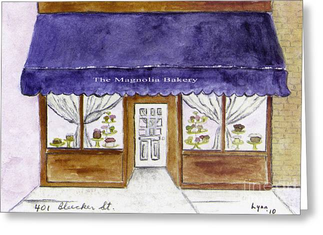 Magnolia Bakery In Greenwich Village Greeting Card