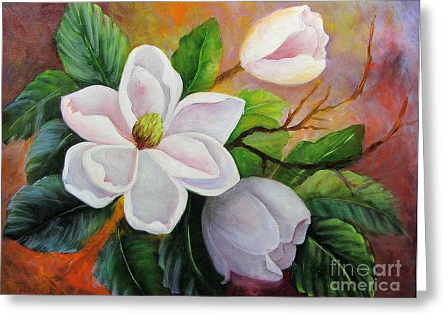 Magnolia IIi Greeting Card
