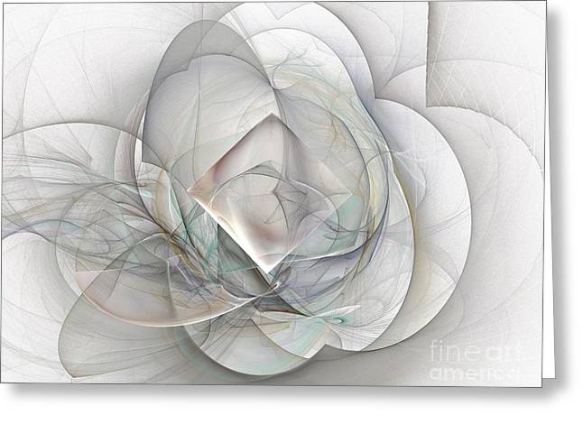Magnolia Jazz Greeting Card by Elizabeth McTaggart