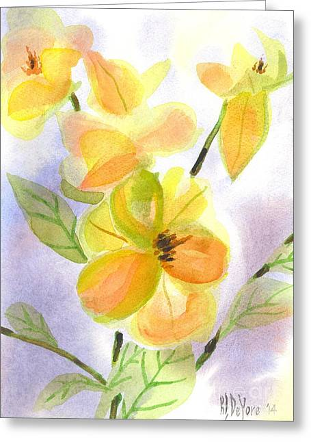 Magnolias Gentle Greeting Card
