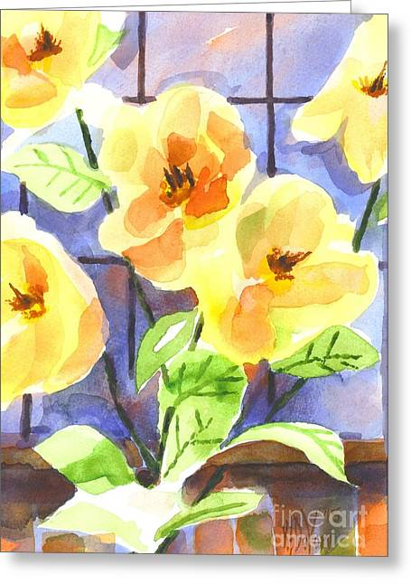 Magnolias Greeting Card by Kip DeVore