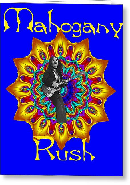 Mahogany Rush Art 1 Greeting Card