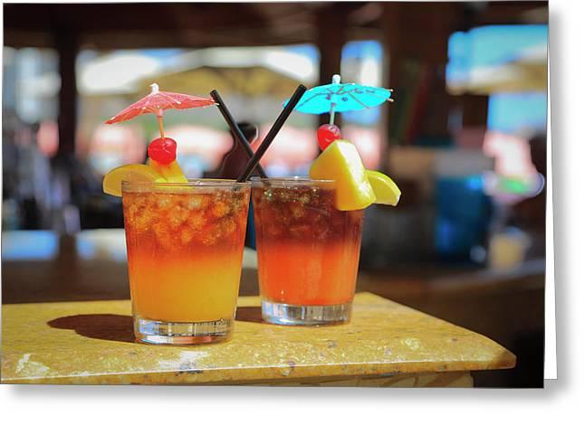 Mai Tai Bar, Royal Hawaiian Hotel Greeting Card