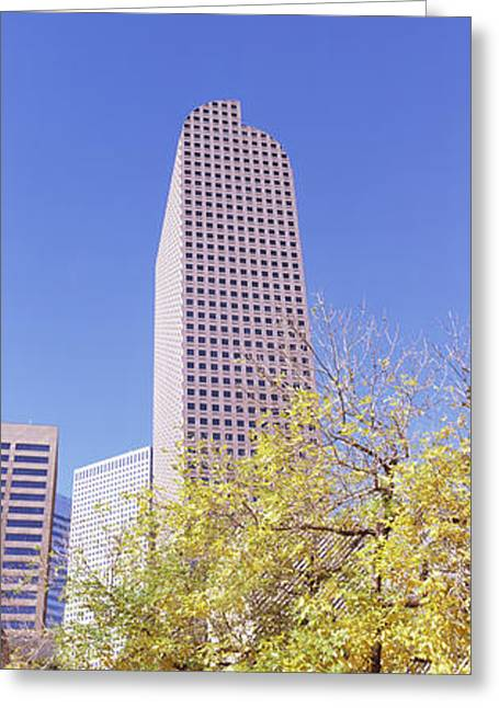 Mailbox Building In A City, Wells Fargo Greeting Card by Panoramic Images