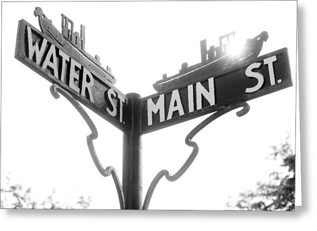 Greeting Card featuring the photograph Main St II by Courtney Webster
