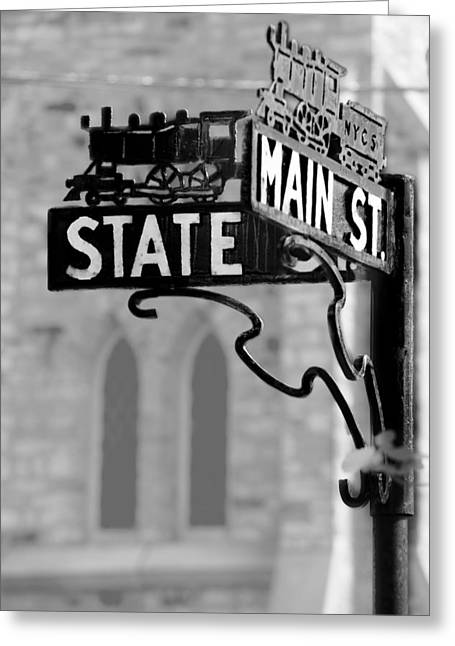 Main St IIi Greeting Card
