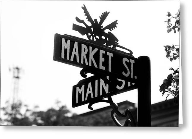 Main St Iv Greeting Card