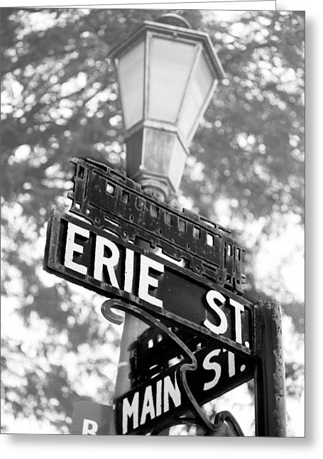 Greeting Card featuring the photograph Main St V by Courtney Webster