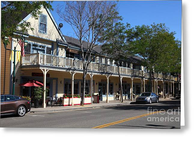 Main Street Americana Pleasanton California 5d23986 Greeting Card
