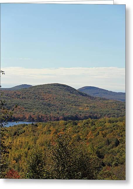 Maine Fall Greeting Card by Becca Brann