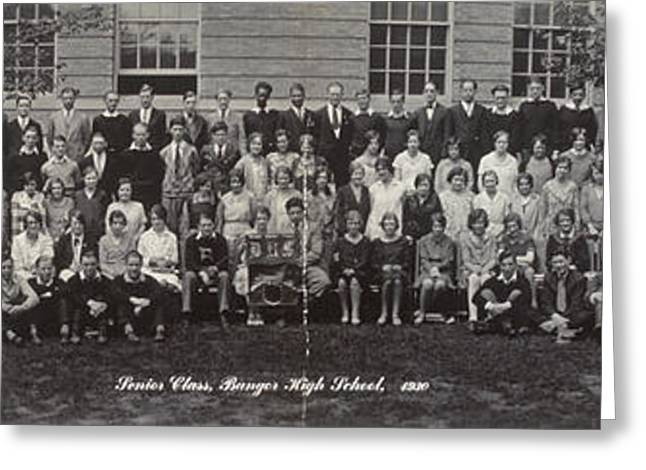 Maine High School, 1930 Greeting Card by Granger