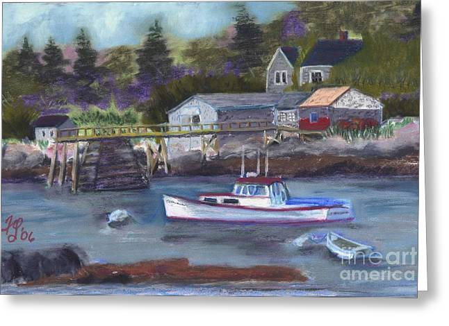 Maine Livin' Greeting Card