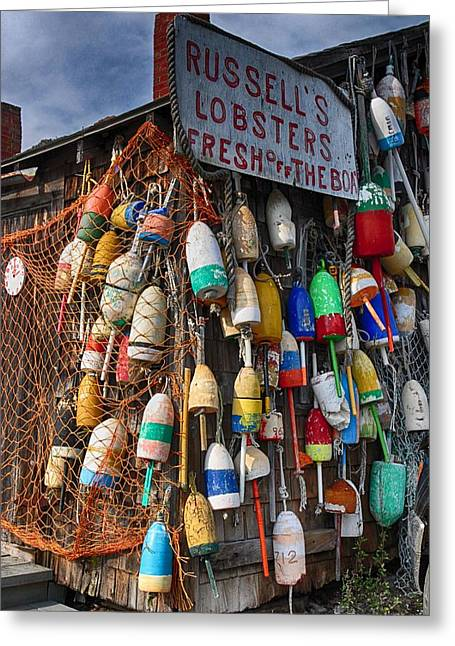 Maine Lobster Shack Greeting Card