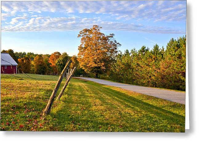 Maine Morning Greeting Card