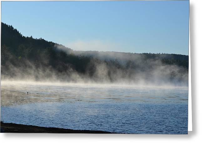 Greeting Card featuring the photograph Maine Morning by James Petersen