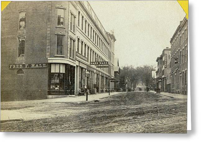 Maine Portland, C1871 Greeting Card by Granger
