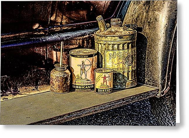 Greeting Card featuring the photograph Maintenance by Jay Stockhaus