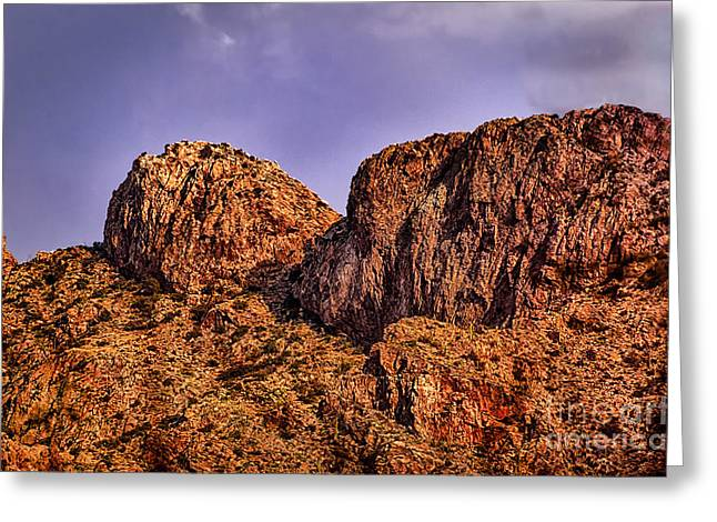Greeting Card featuring the photograph Majestic 15 by Mark Myhaver