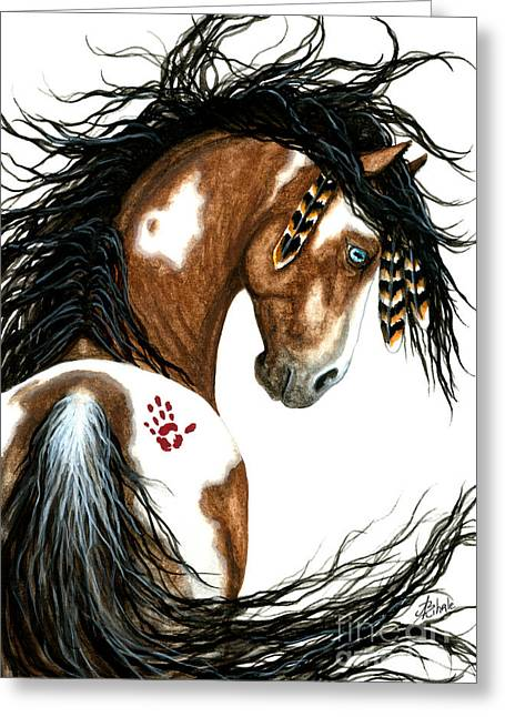 Majestic Horse #106 Greeting Card