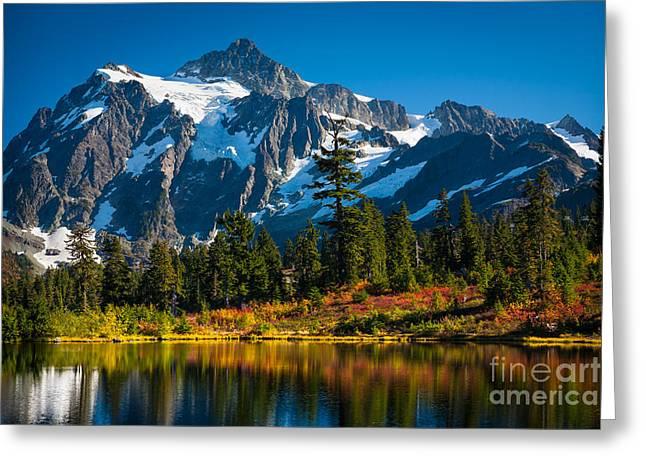 Majestic Mount Shuksan Greeting Card