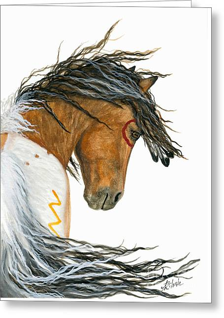 Majestic Pinto Horse 110 Greeting Card