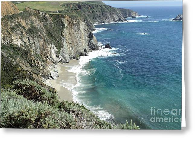 Greeting Card featuring the photograph Majestic Sea by Carla Carson