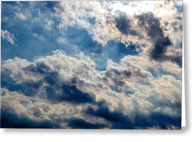 Majestic Sky Greeting Card