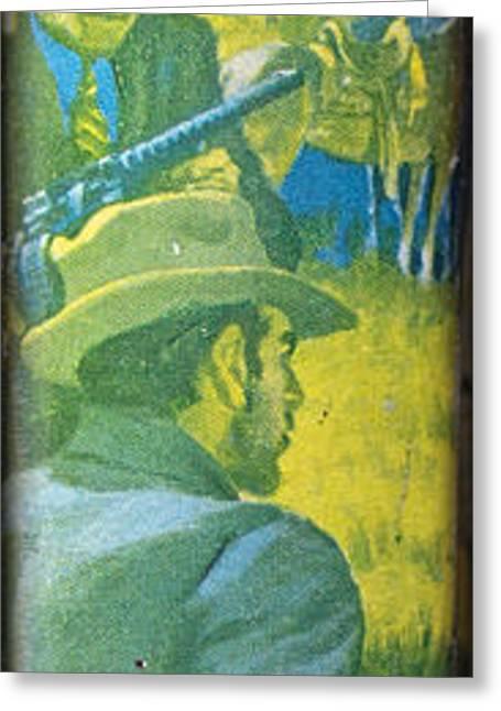 Majesty's Rancho By Zane Grey Greeting Card by Edward Fielding