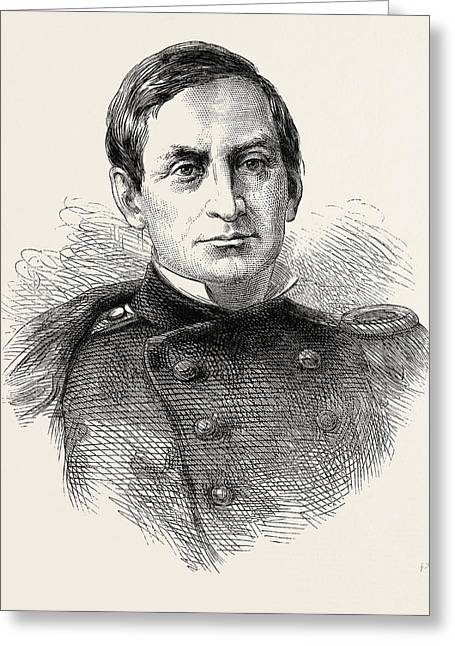 Major Anderson, He Was An American Military Leader Greeting Card