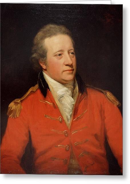 Major-general John Garstin Greeting Card