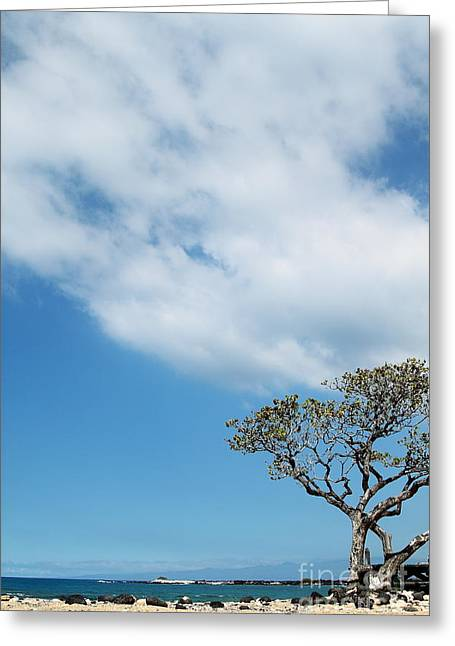 Makalawena Beach Greeting Card