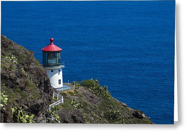 Makapuu Lighthouse 1 Greeting Card