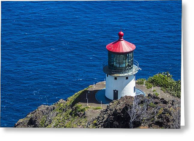 Makapuu Lighthouse 3 Greeting Card