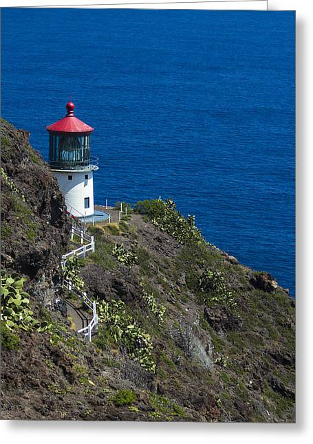 Makapuu Lighthouse2 Greeting Card