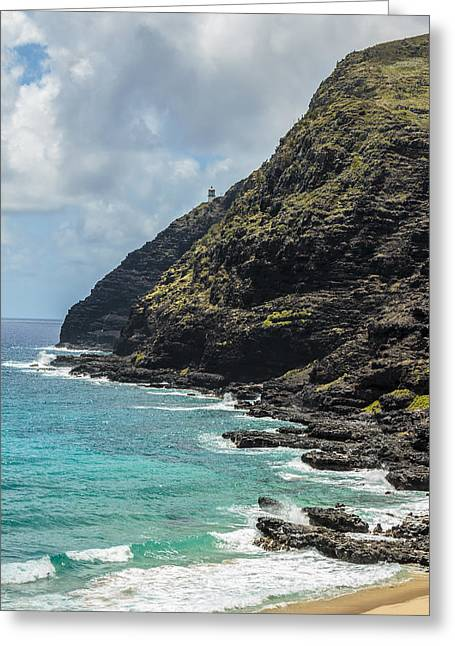 Makapuu Point 1 Greeting Card