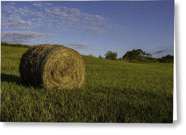 Make Hay Greeting Card