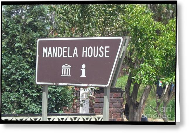 Make Your Heart Mandela House  Greeting Card