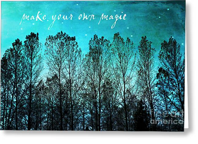 Make Your Own Magic Greeting Card by Sylvia Cook